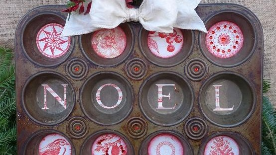 muffin-tin-Christmas-Noel-sign