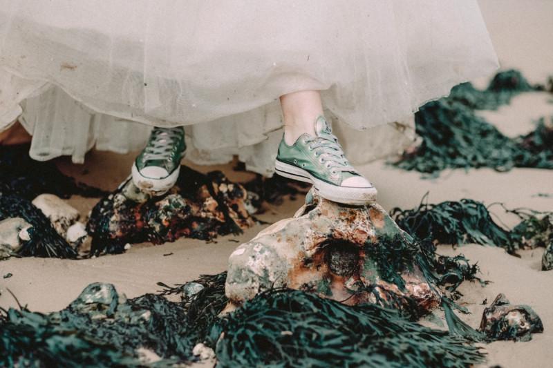 Mermaid Shoes, Wedding I Do's