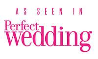 perfect wedding badge